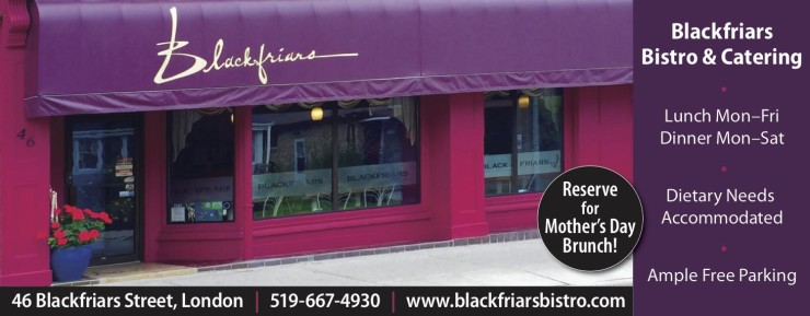 Reserve For Mother's Day Brunch At Blackfriars